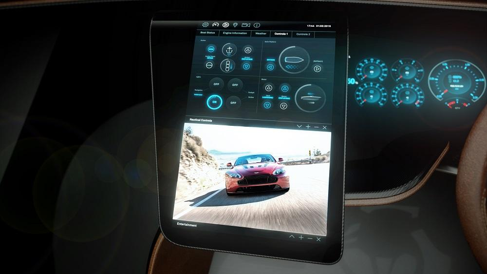 The dash-mounted, 15-inch touch screen will offer navigation, multi-media and entertainment controls