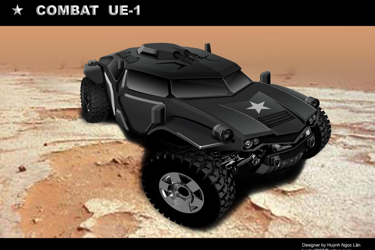 The Combat UE-1 vehicle is one design being explored through ArmyCoCreate.com