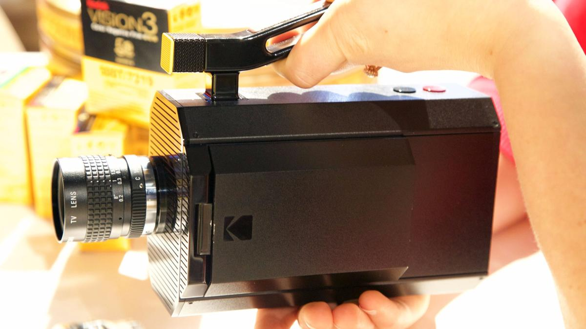 The Kodak Super 8 camera is one component of the company's just-announced Kodak Super 8 Revival Initiative