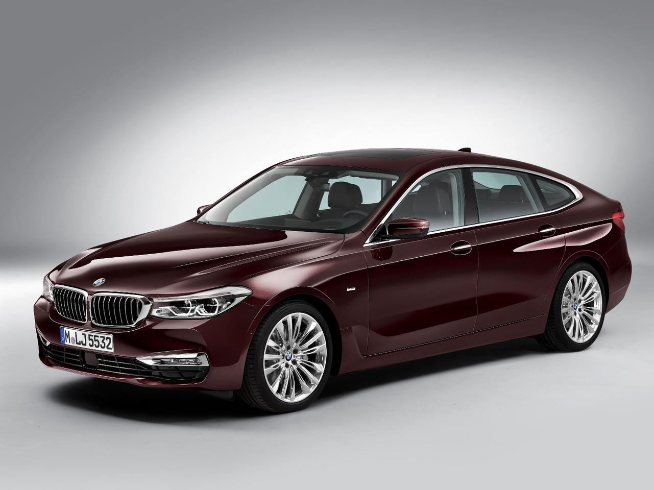 The 6 Series Gran Turismo is designed to blend hatch, wagon and sedan bodies