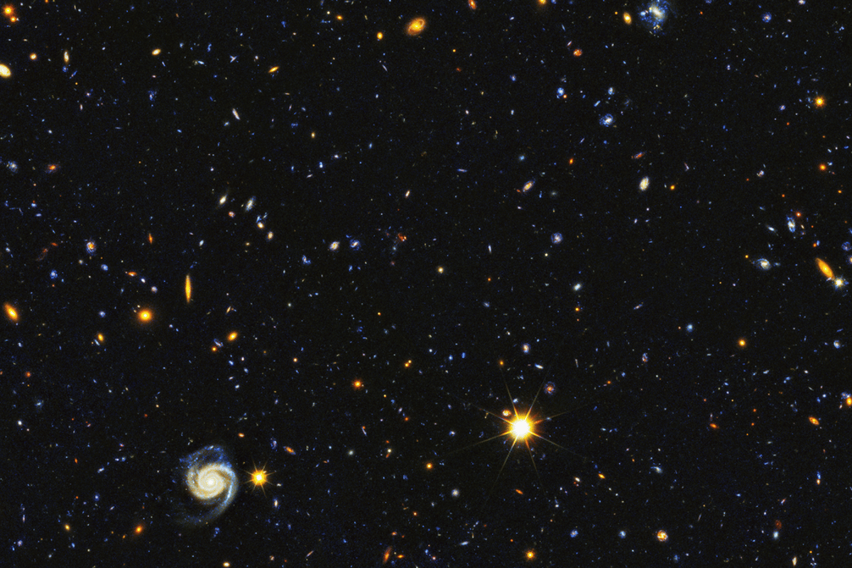 Hubble has captured an incredible new image of the universe