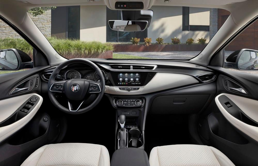 The interior of the 2020 Buick Encore GX is beautifully done, though seating can be tight in the buttocks for some