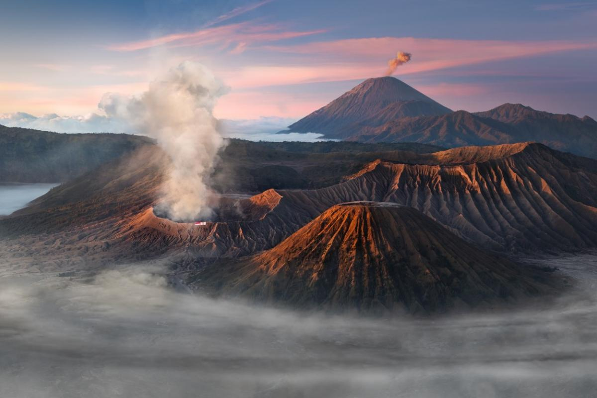 Mount Bromo, Java, Indonesia. From the top 101 entries