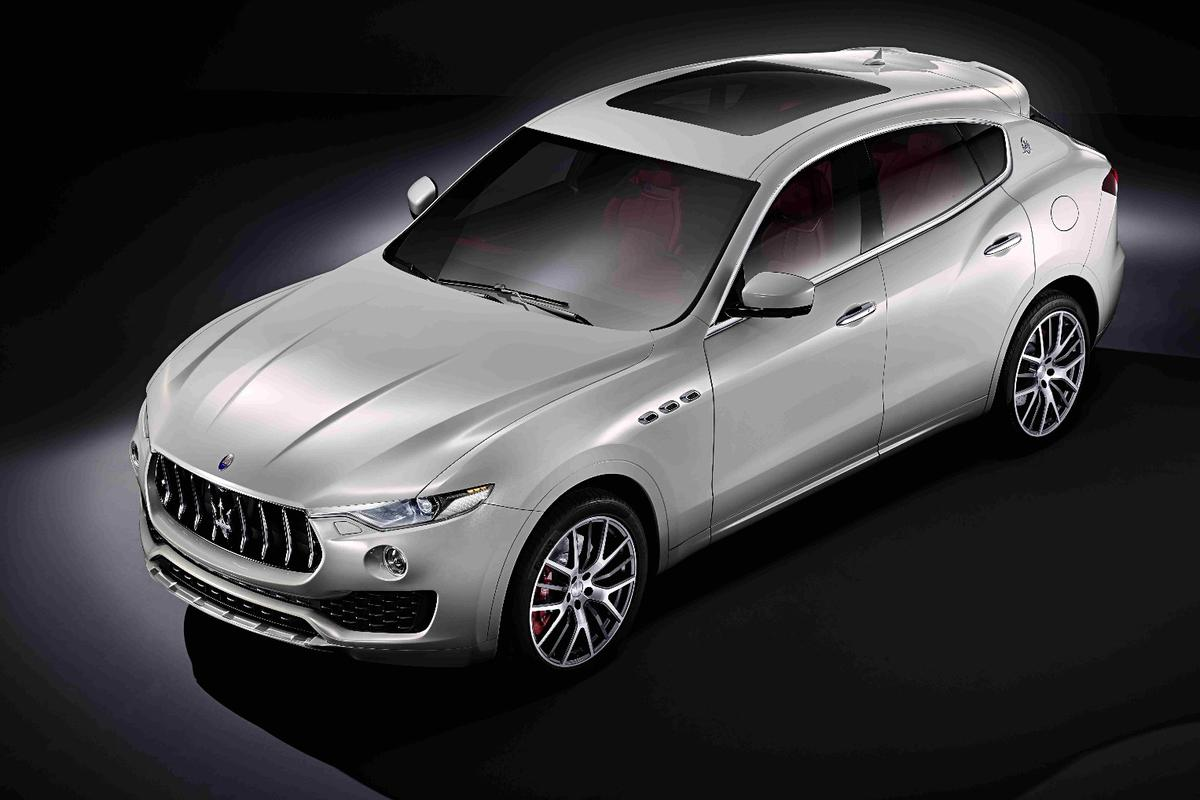Maserati will debut the Levante at the 2016 Geneva Motor Show next week