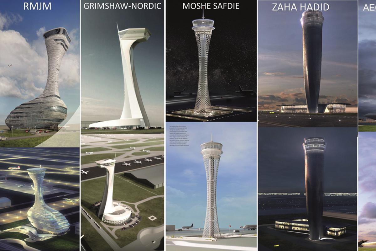 iGA launched an architectural competition to design an air traffic control tower for Istanbul New Airport