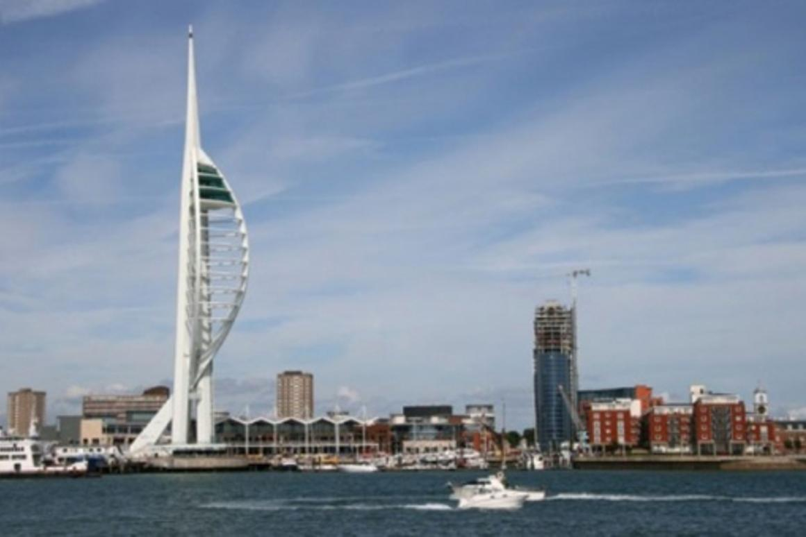 Pedestrian power: the Spinnaker Tower