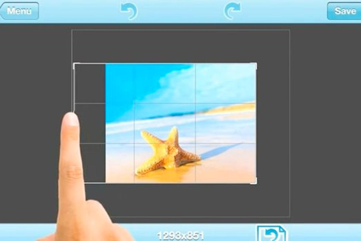 AntiCrop is an app that can add more background to the border of a photograph, in any direction