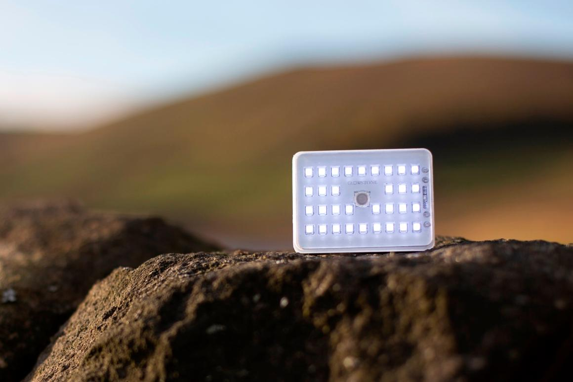 The tiny, flat Glowstone Flashlight has quite a few tricks up its sleeve
