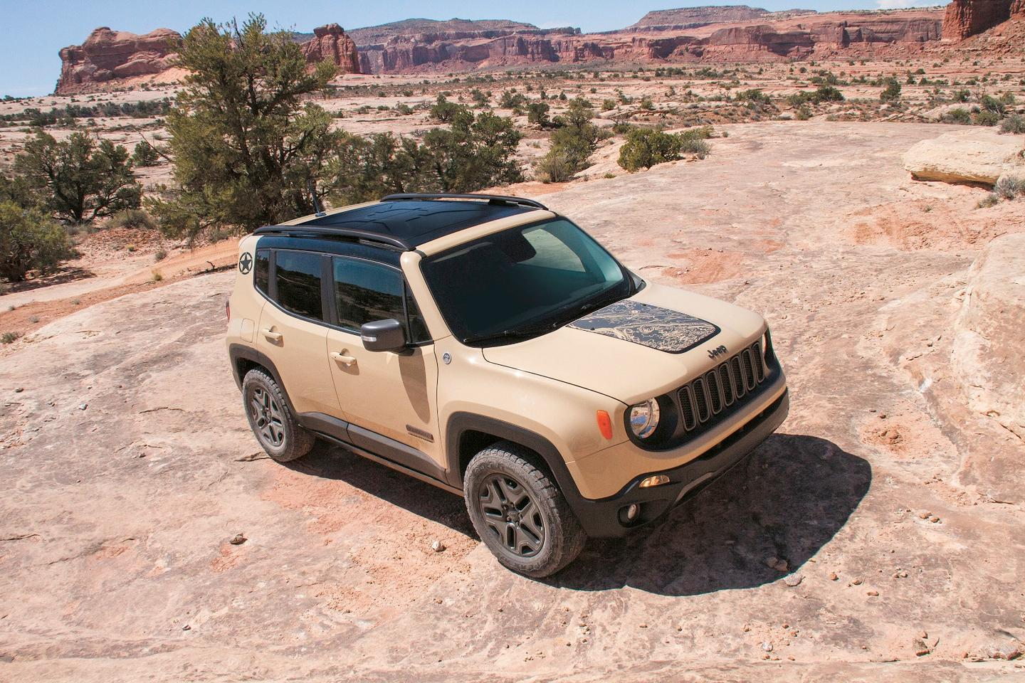 The Renegade Deserthawk will debut at the Los Angeles Auto Show