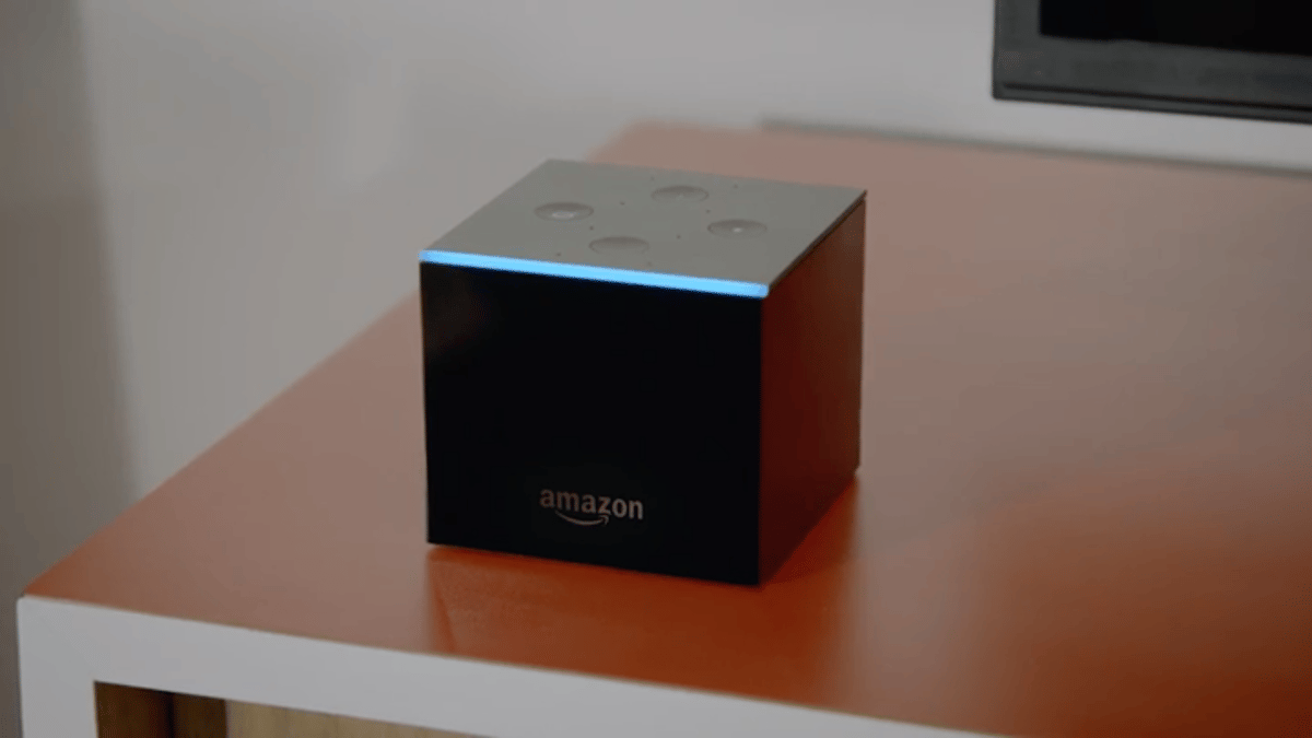 Amazon's Fire TVCube lets you bark voice commands at your TVand other devices