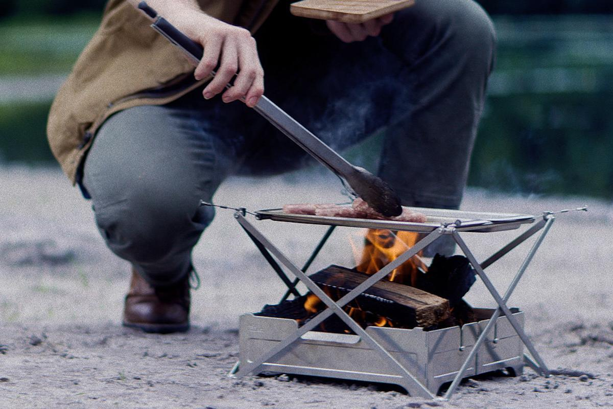 Wolf and Grizzly continues growing its line of campfire cooking gear with the new Cook System