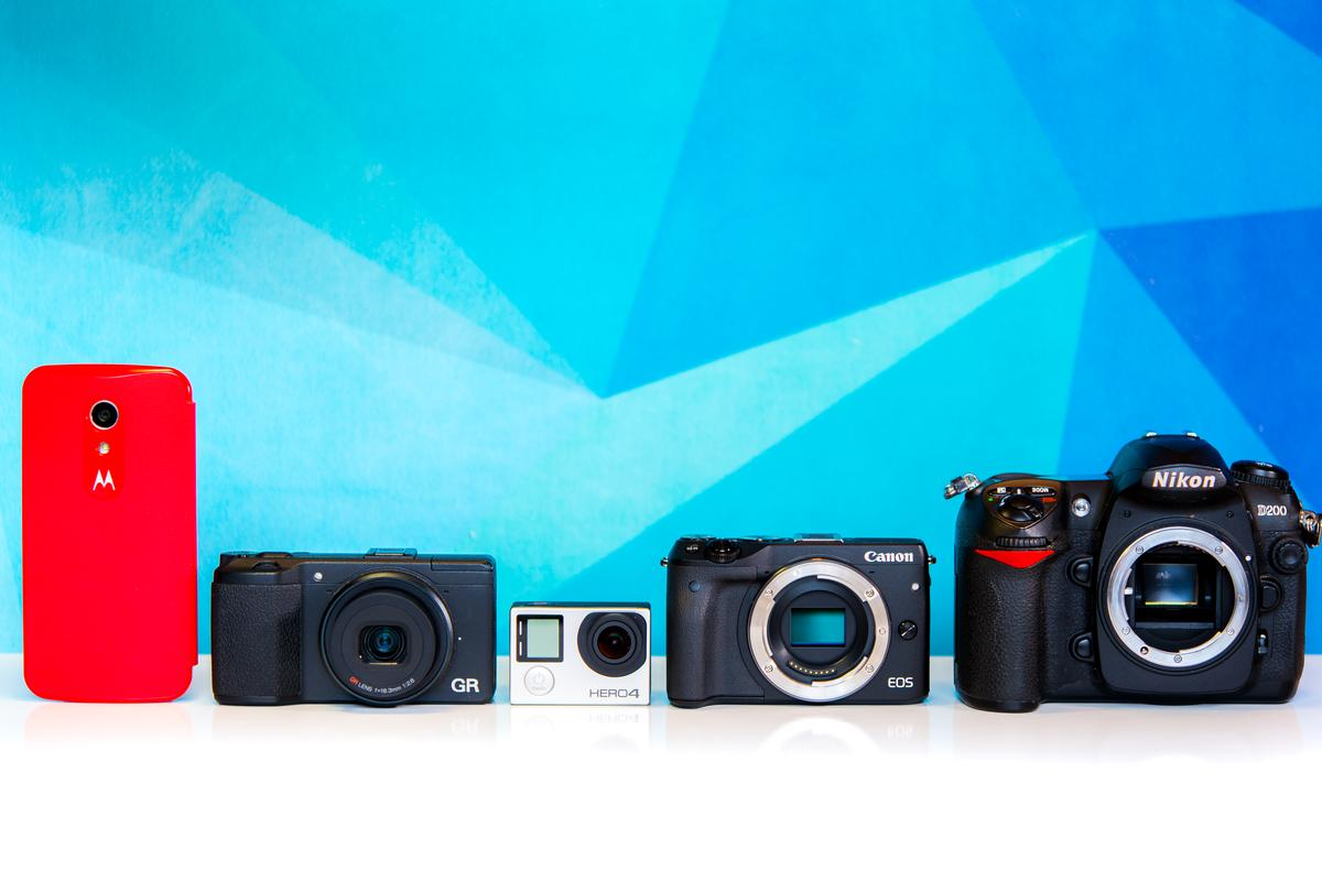 Gizmag looks at the different types of camera on offer, and how to decide which is right for you