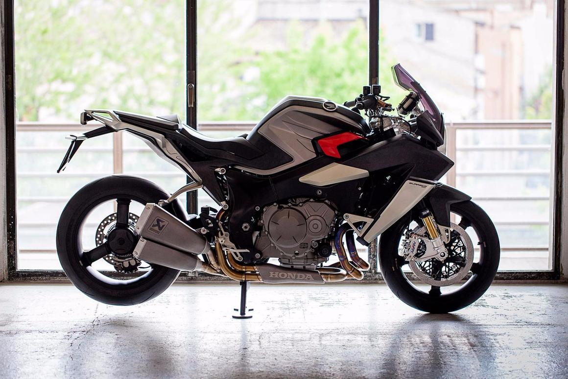 The Burasca 1200 is the first complete motorcycle ever designed byAldo Drudi