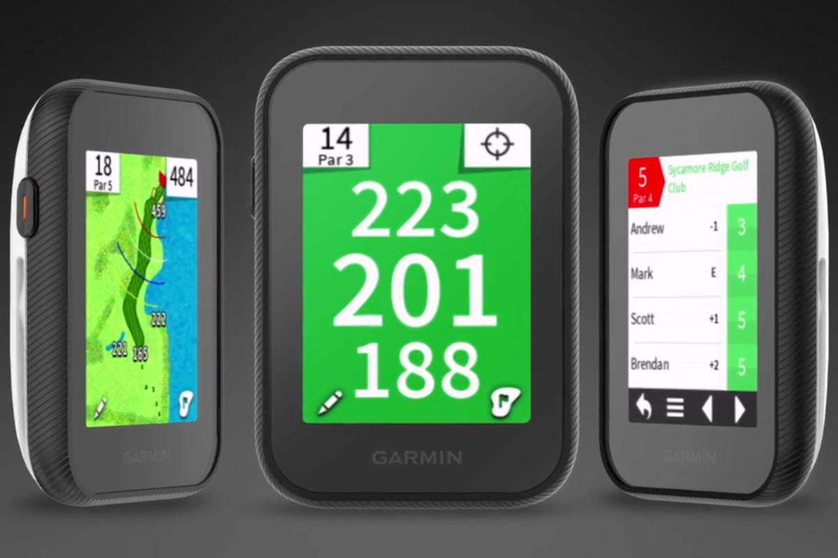 The Garmin Approach G30, on sale now for golfers wanting some hi-tech help with their game