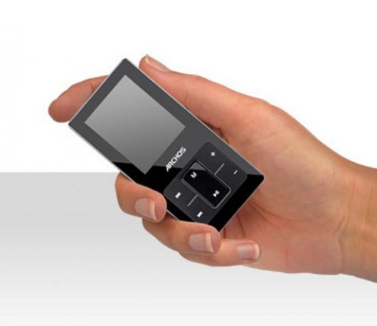 The Archos 2 portable music player: bigger, yes, but better than Apple's iPod Shuffle?