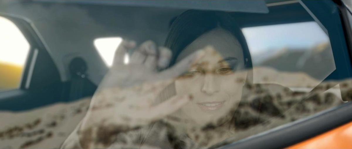 The Feel The View prototype can allow blind passengers to mentally recreate a landscape beyond the car's window