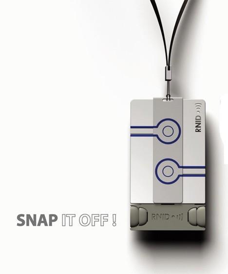 RNID credit-card sized earplugs.