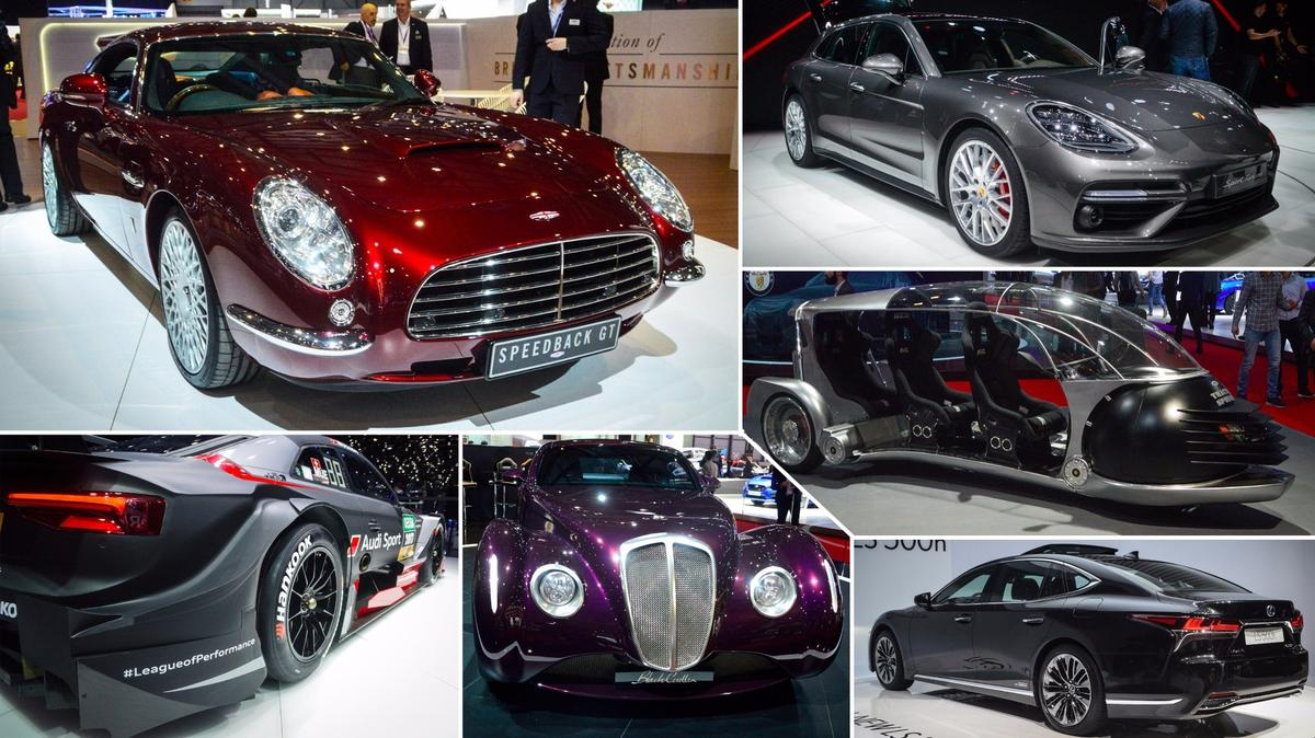 Sights from the floor of the 2017 Geneva Motor Show