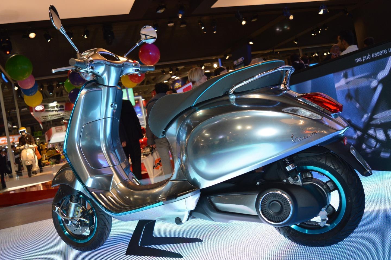 vespas elettrica electric scooter arrive