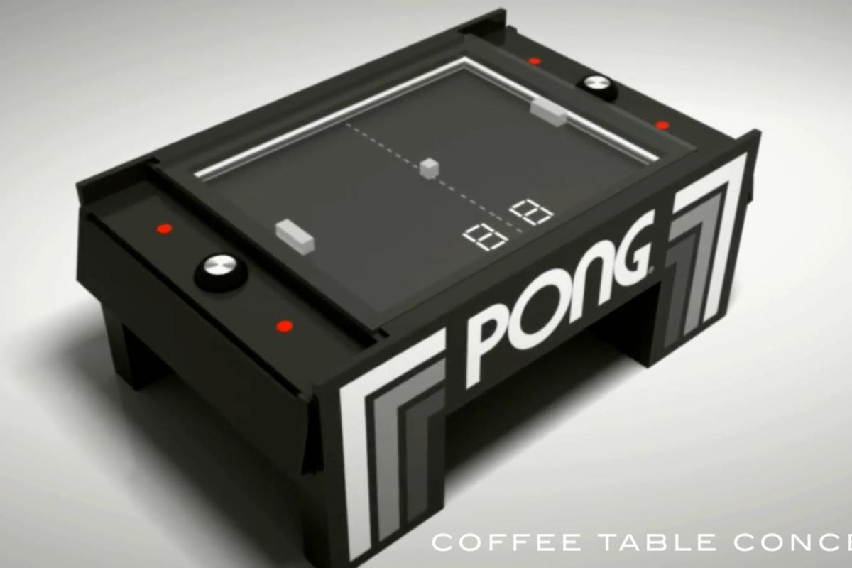 A small team in Uruguay has developed a mechanical table version of the classic arcade video game, Pong
