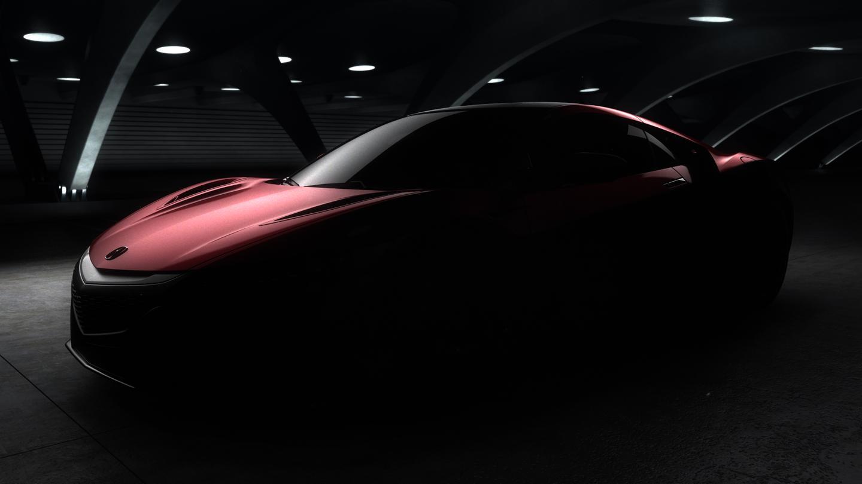 Acura teases the production NSX