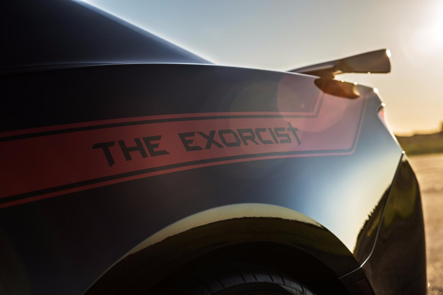The Exorcist is aimed directly at the Dodge Demon