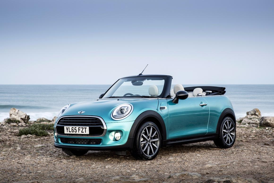 The MINI Convertible is the best-selling convertible in the United Kingdom