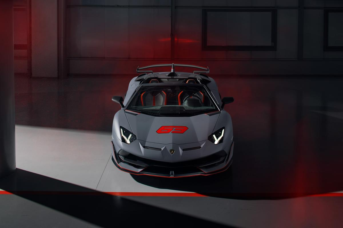 The SVJ 63 version pays homage to the company's 63rd anniversary