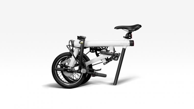 Xiaomi's bike folds up for easy storage