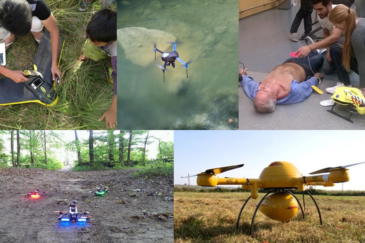 2014 saw the emergence of some truly innovative drone projects