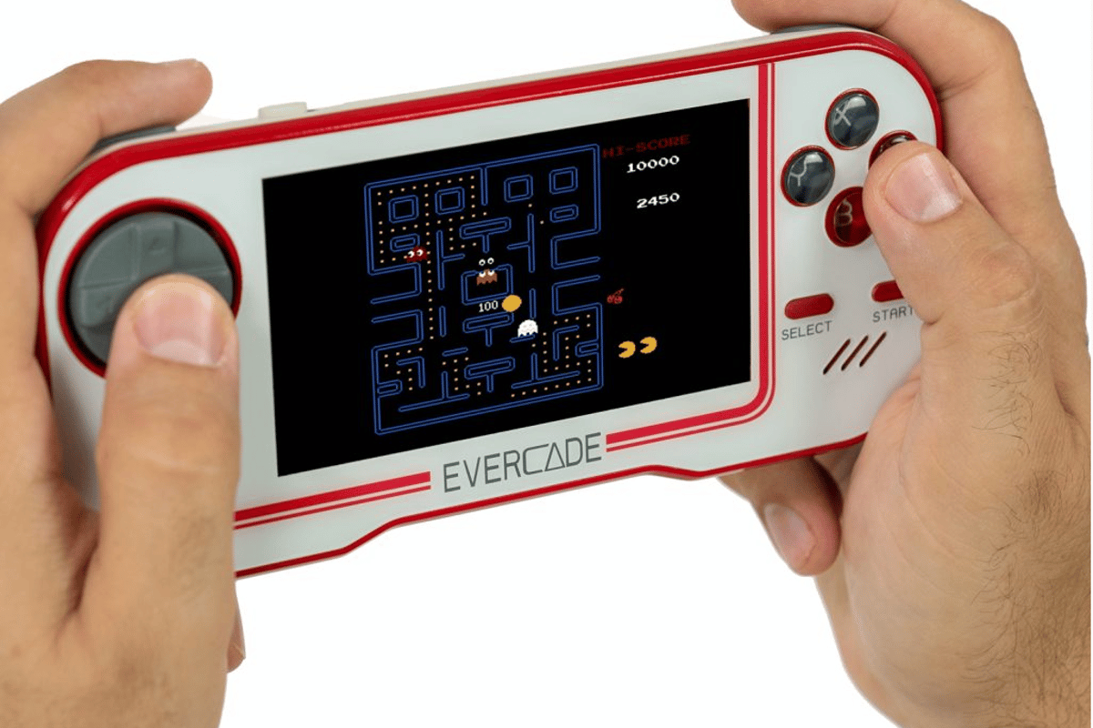 The Evercade is a new handheld retro console