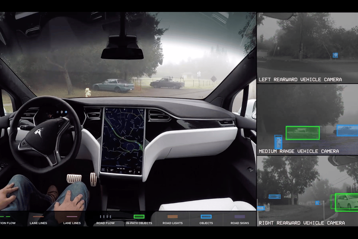 There is a whole lot to take in as a self-driving car trying to survive on the street