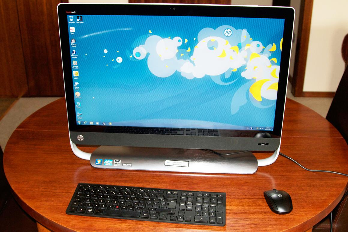 HP's Omni 27 is the company's first 27-inch all-in-one model