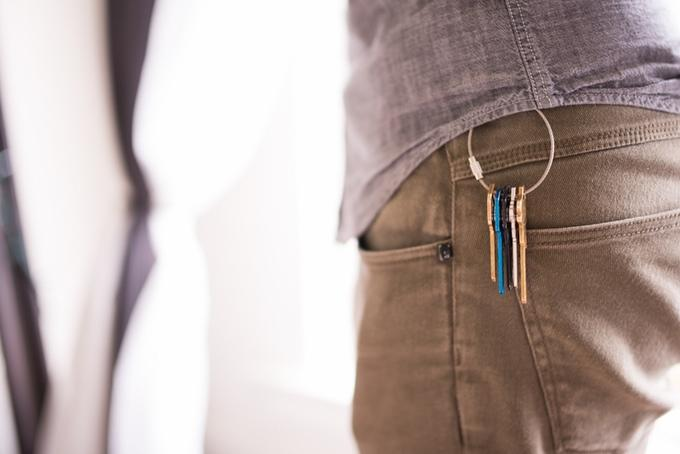 MagKey uses magnets to stop your keys from jangling