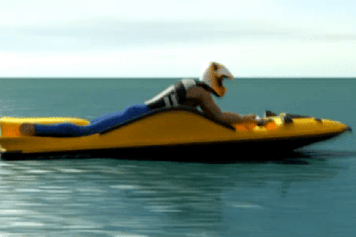 The body board / Jet Ski hybrid design concept
