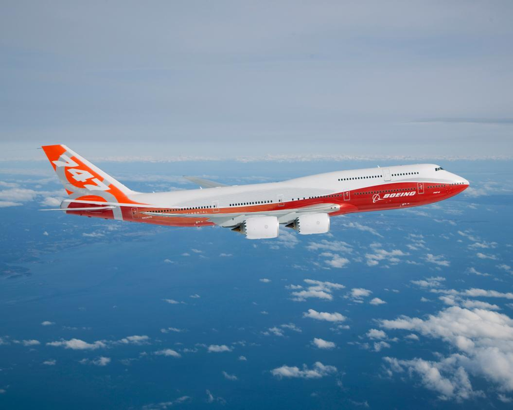 Boeing 747-8 Intercontinental test program began with a four hour and 25 minute flight (Photo: Boeing)