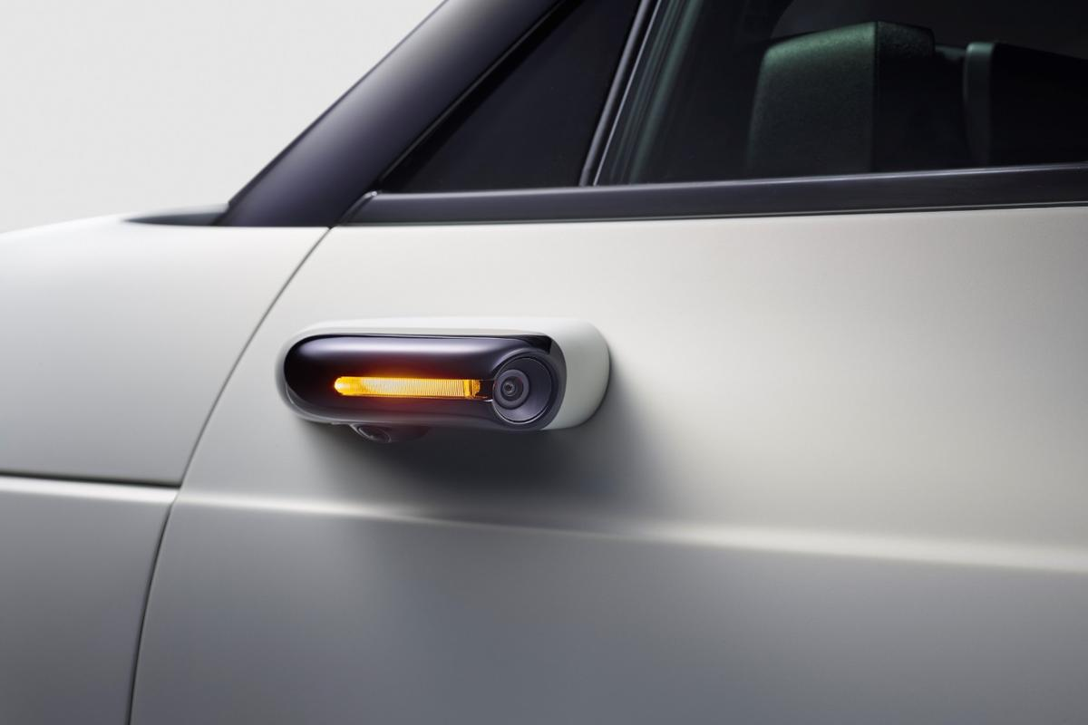 Those with an eye for detail may have noticed the side mirrors on Honda's upcoming e, or lack thereof