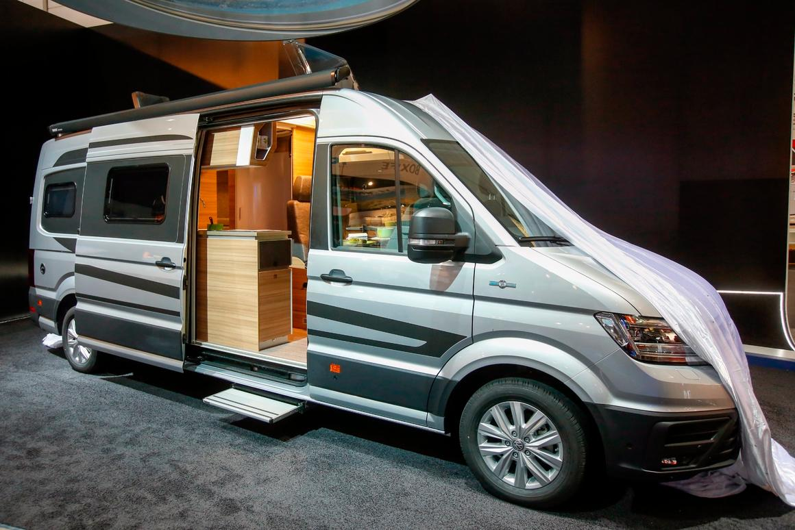 Knaus turns the VW Crafter van into a new type of CUV, a