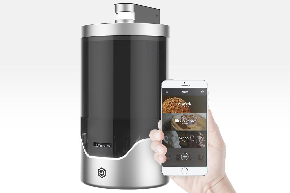 The Orbit1 aims to make electroplating simple and affordable