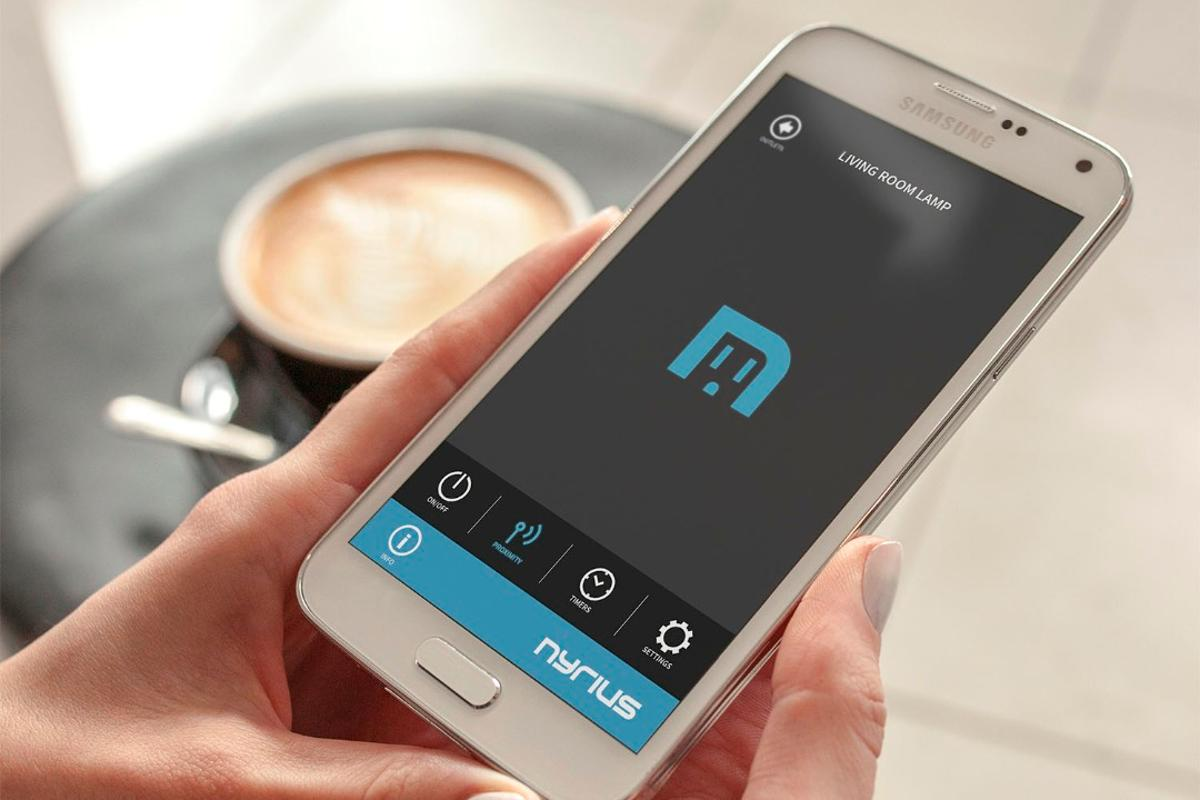 The Nyrius Smart Outlet lets users remotely control electronics without the requirement of a Wi-Fi connection or hub