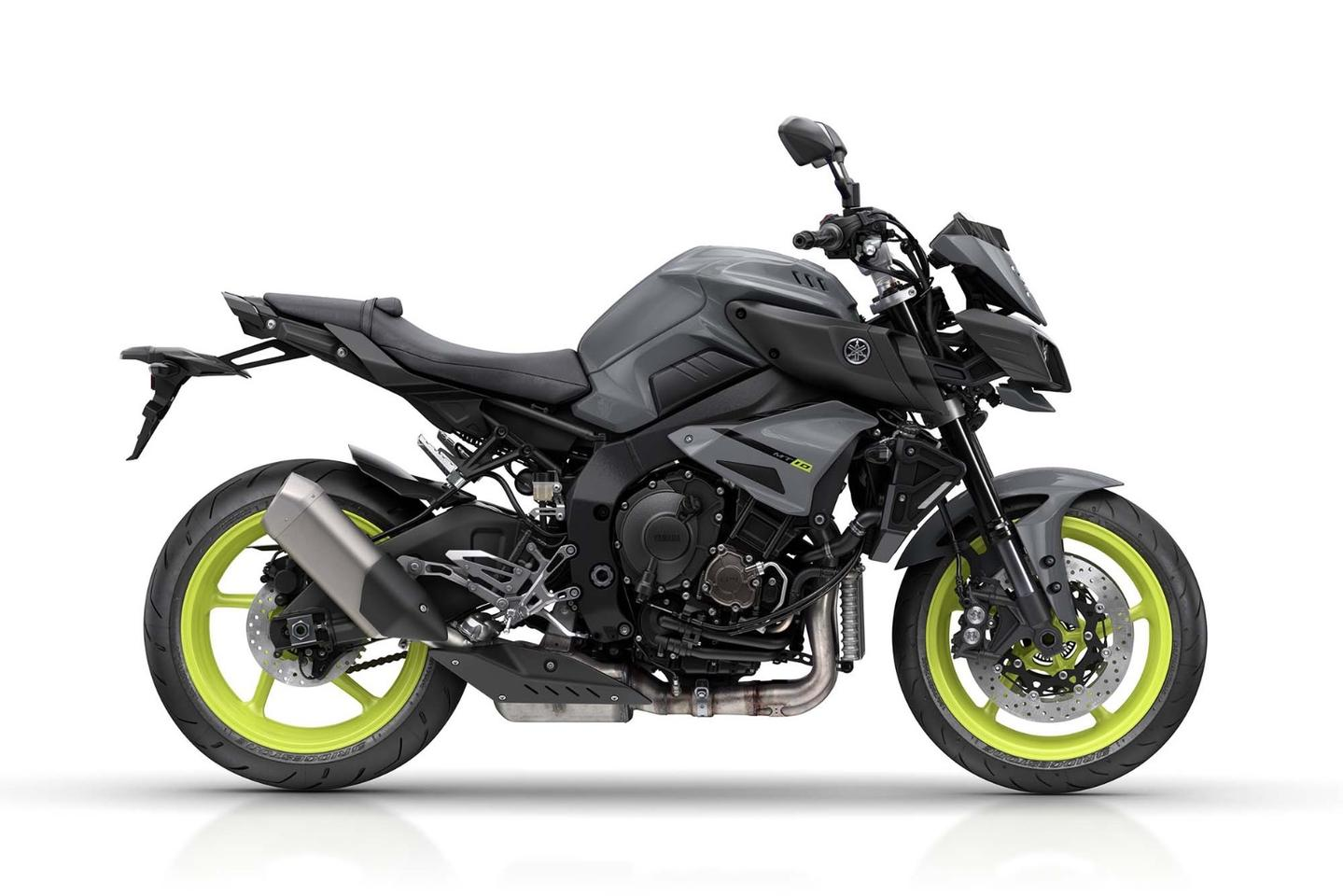 Yamaha MT-10: a brute if ever we saw one.