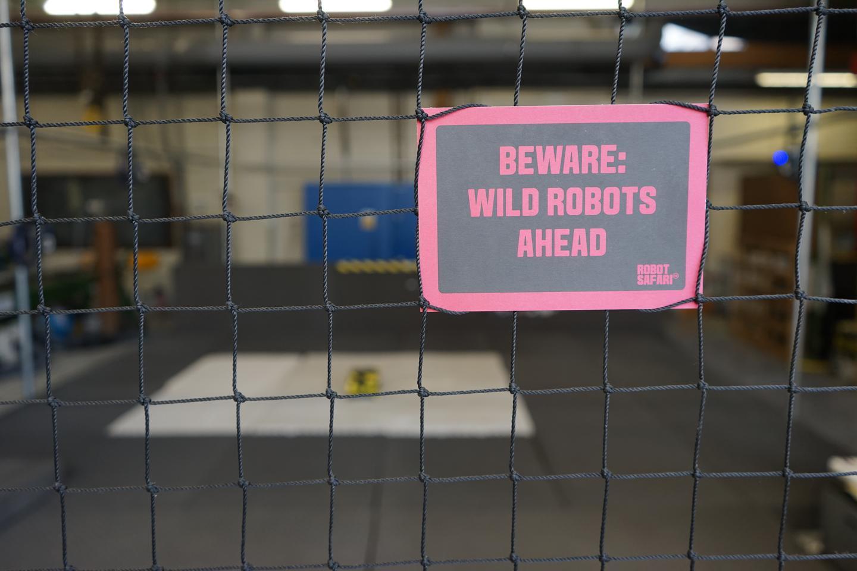 The drone-testing area (Photo: Aerial Robotics Lab)