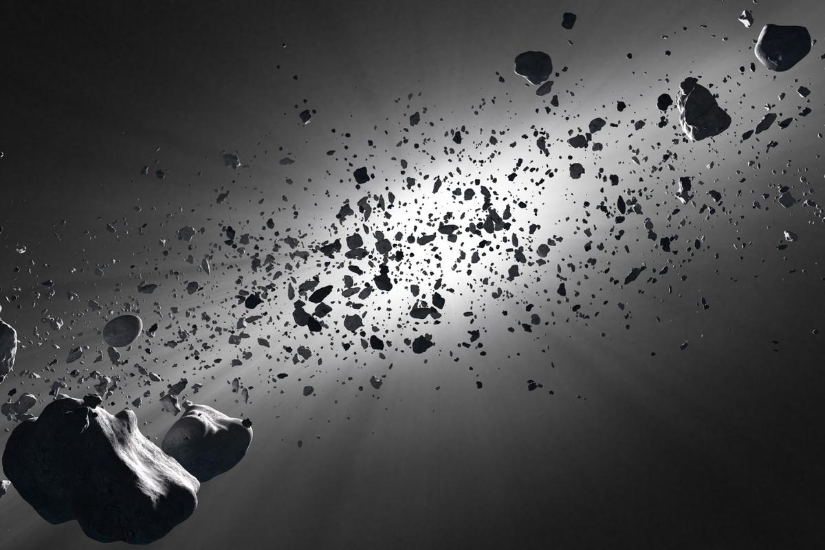 A new Harvard study suggests life is spreading throughout the galaxy onboard asteroids