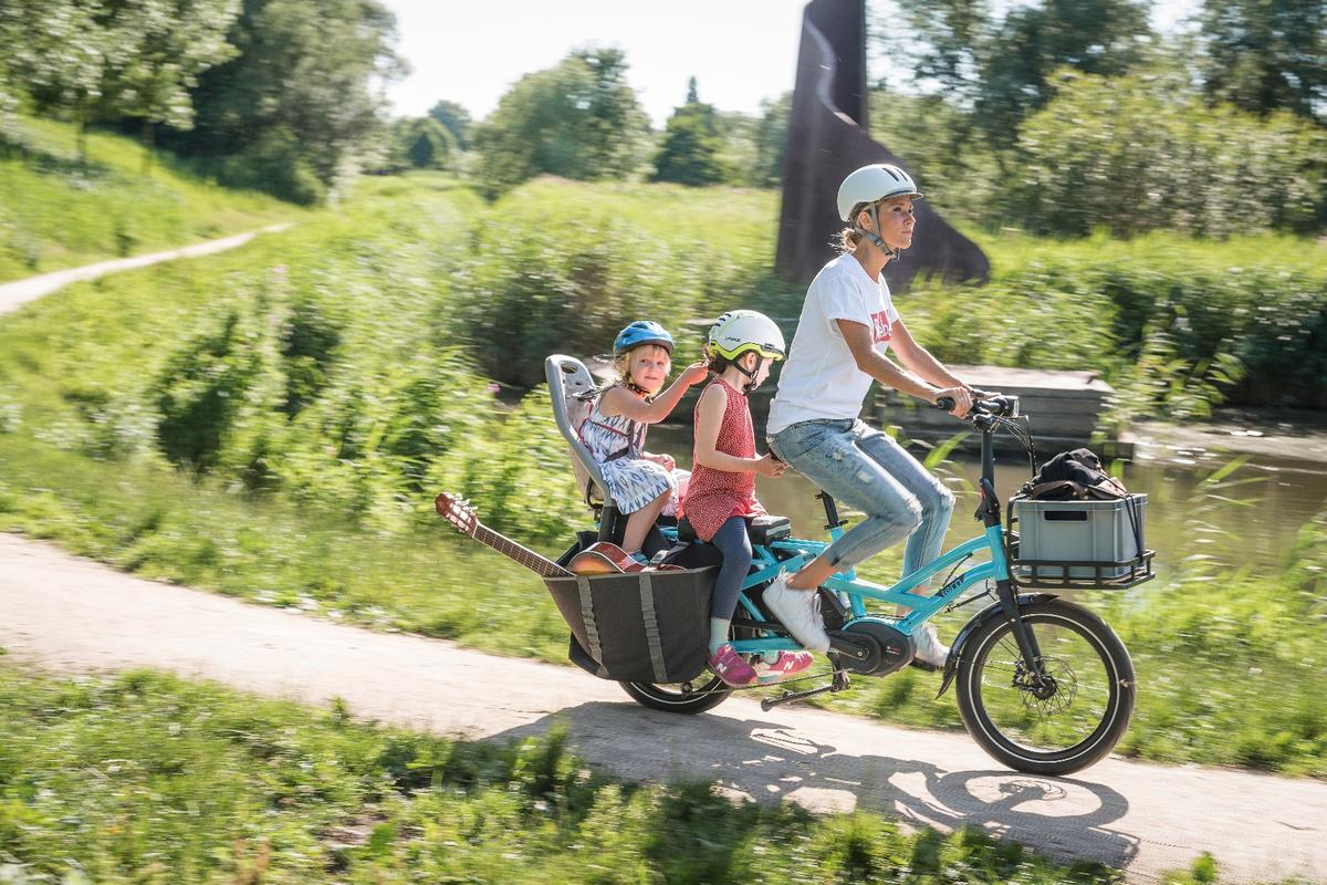 Tern has designed the GSD to fit two children or one adult passenger