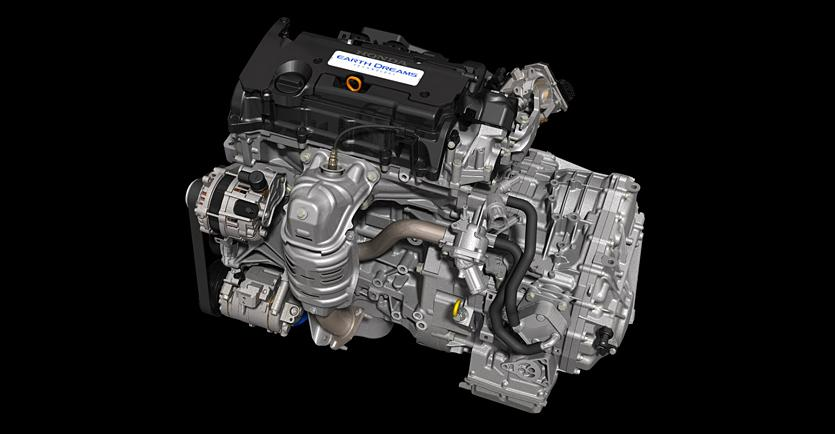 "Honda's new 2.4L engine is part of a wide range of engine classes developed for the company's ""Earth Dreams Technology"" initiative"
