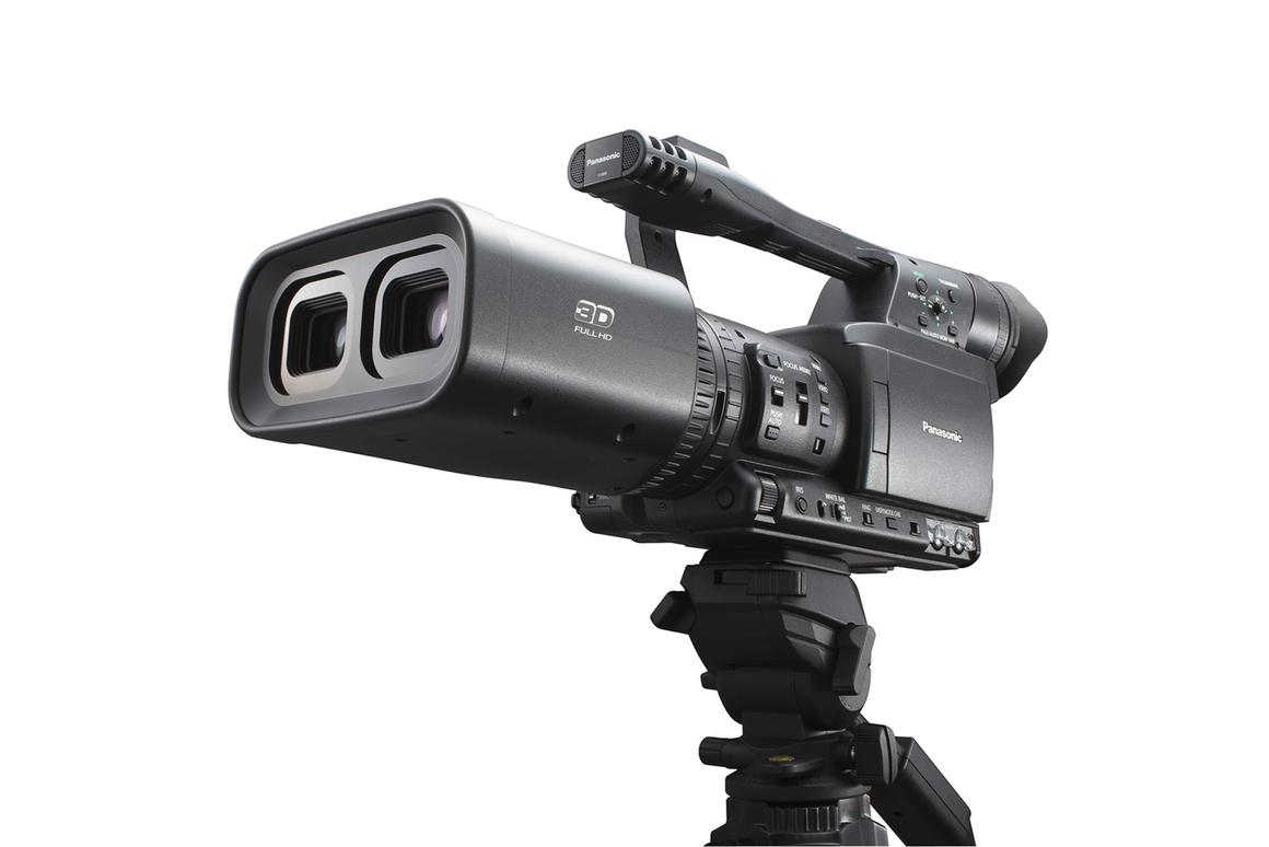 Panasonic's twin-lens Full HD 3D camcorder