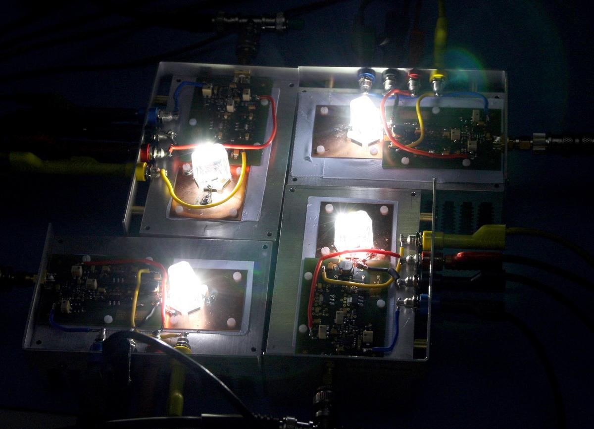 Siemens' Visible Light Communication technology