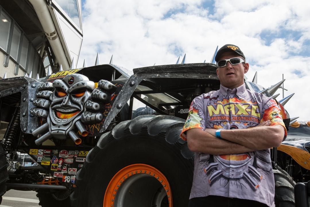 11 times Monster Jam World Champion, Tom Meentz (Photo: Noel McKeegan/Gizmag.com)