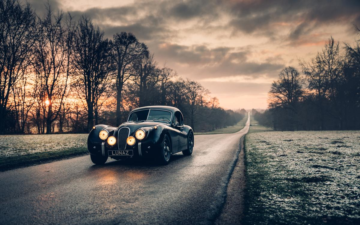 The Jaguar XK120's new twin motors are good for 375 bhp