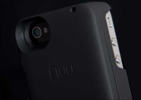 The Nuu MiniKey case for iPhone 4